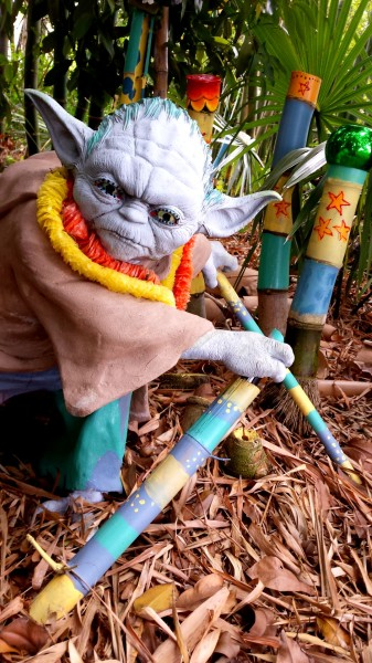 """My Backyard Yoda"" by Shelly Polvere"